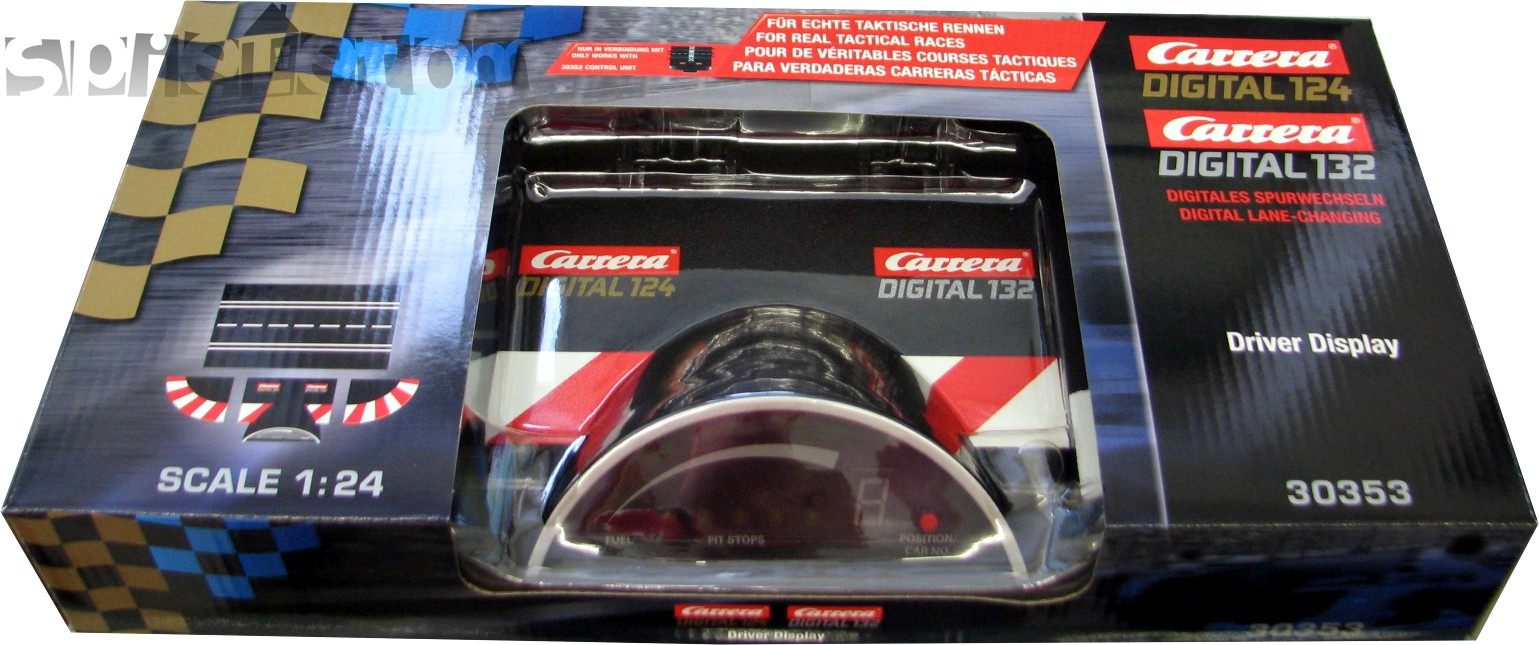 driver display carrera digital 124 132 20030353 neu. Black Bedroom Furniture Sets. Home Design Ideas