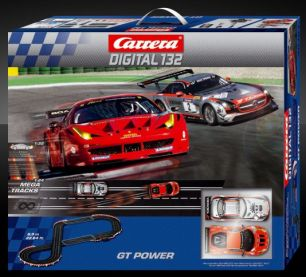 GT Power Carrera Digital 132 Starter Set # 20030161 -NEU-