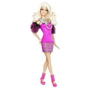 Barbie Fashionistas inkl. Ring - Barbie pink Mattel X2272 - NEU -