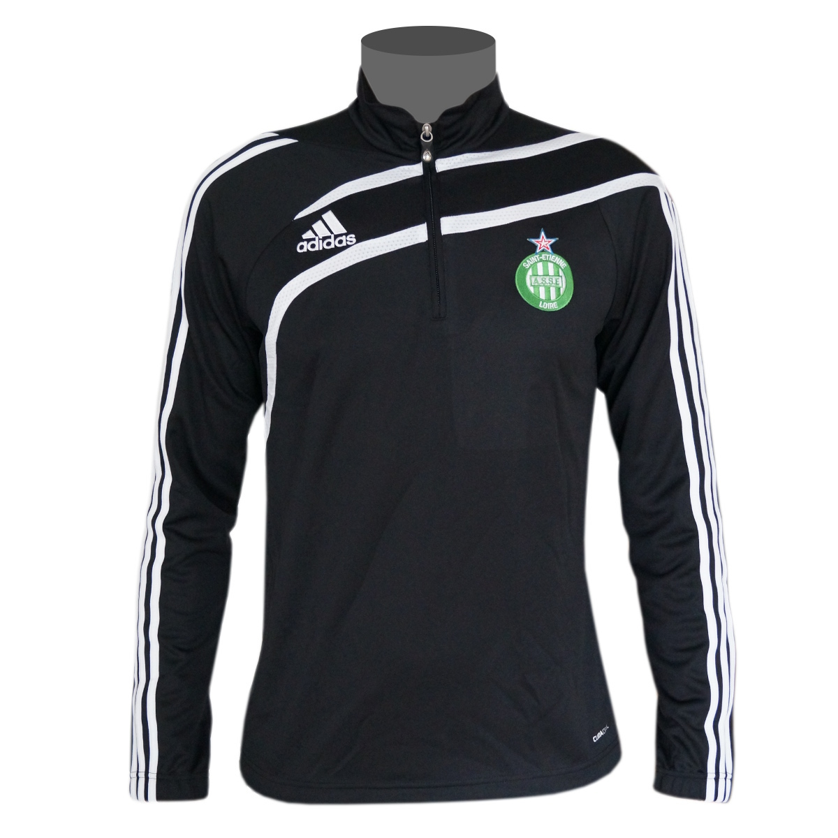 adidas as saint etienne sweatshirt herren sport pullover schwarz ebay. Black Bedroom Furniture Sets. Home Design Ideas