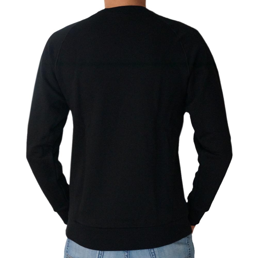 adidas essential crew herren rundhals pullover schwarz sweatshirt ebay. Black Bedroom Furniture Sets. Home Design Ideas