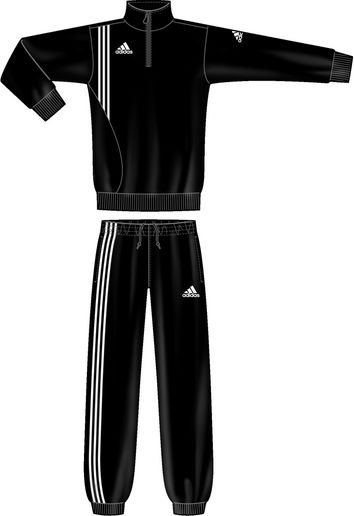 adidas sereno 11 sweatanzug jogginganzug schwarz herren trainingsanzug ebay. Black Bedroom Furniture Sets. Home Design Ideas