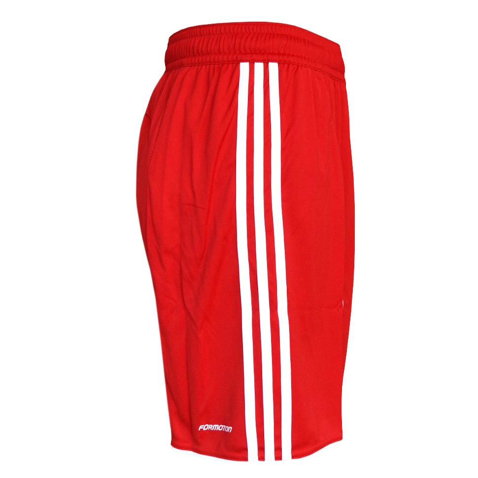 adidas fußball short herren rot