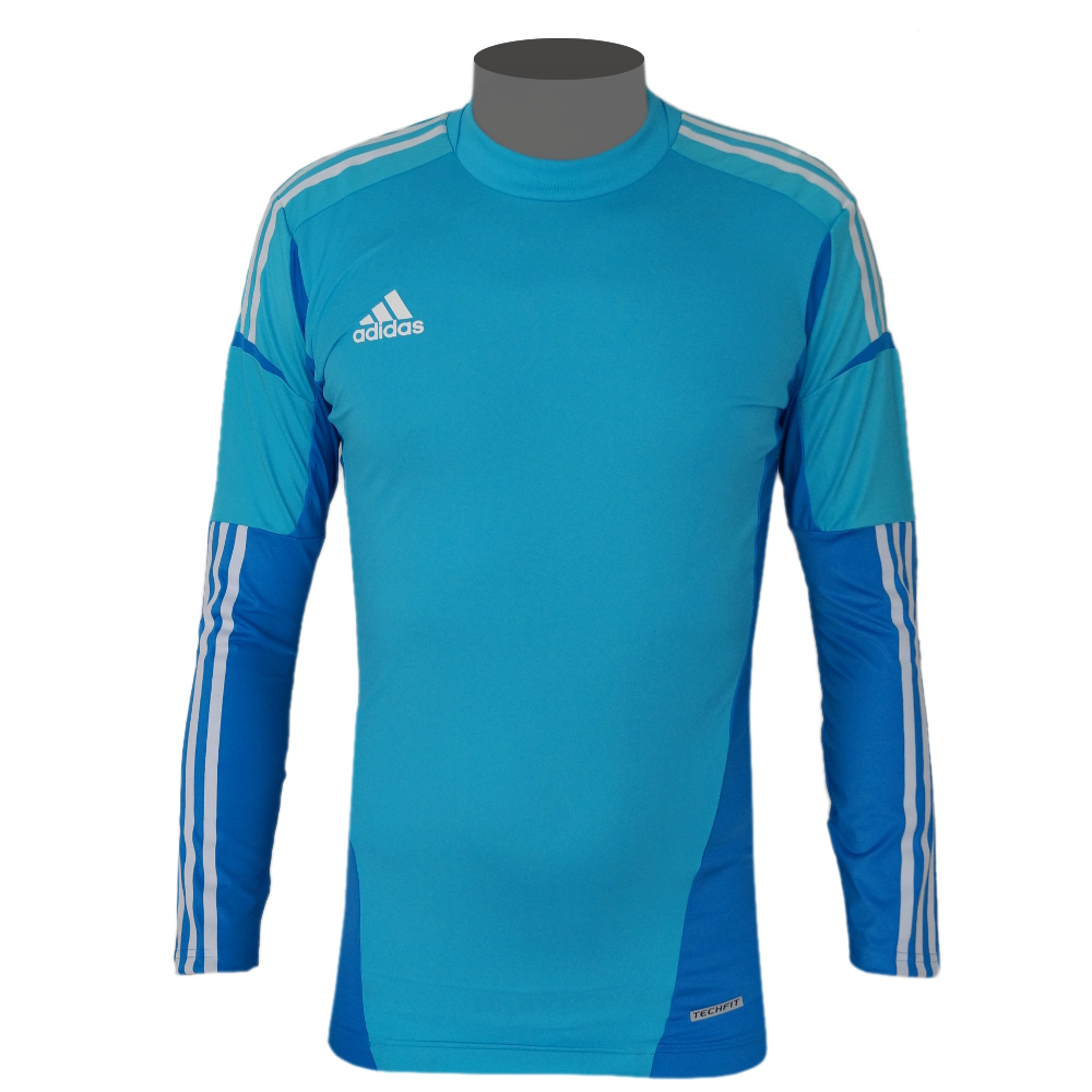 adidas condivo techfit herren torwart trikot cyan blau t rkis ebay. Black Bedroom Furniture Sets. Home Design Ideas