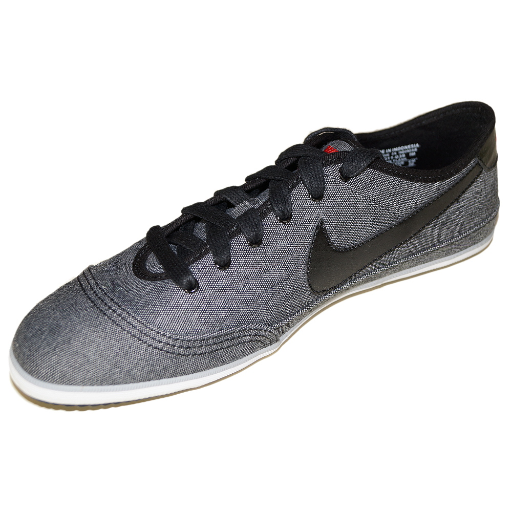 nike flash herren schuh grau schwarz sneaker textil ebay. Black Bedroom Furniture Sets. Home Design Ideas