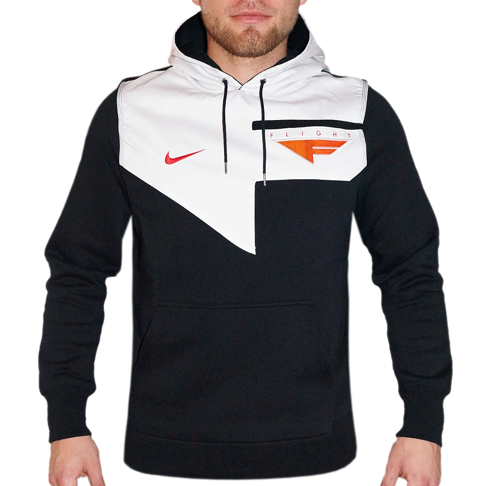 nike herren kapuzenpullover flight basketball hoody. Black Bedroom Furniture Sets. Home Design Ideas