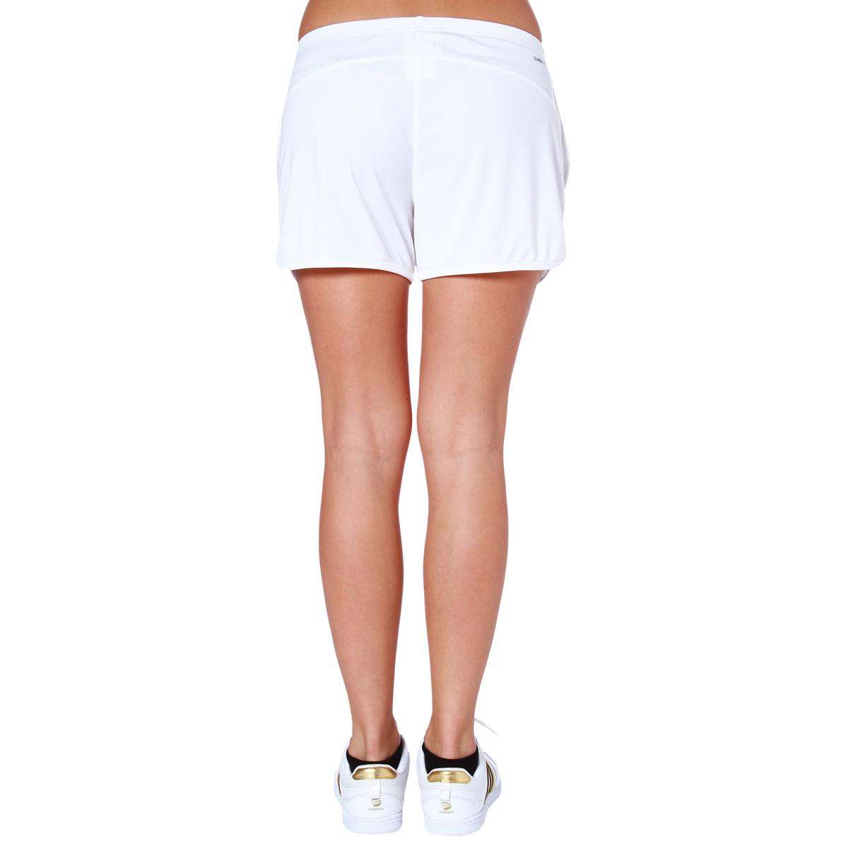 adidas basic damen tennis knit short fitness shorts. Black Bedroom Furniture Sets. Home Design Ideas