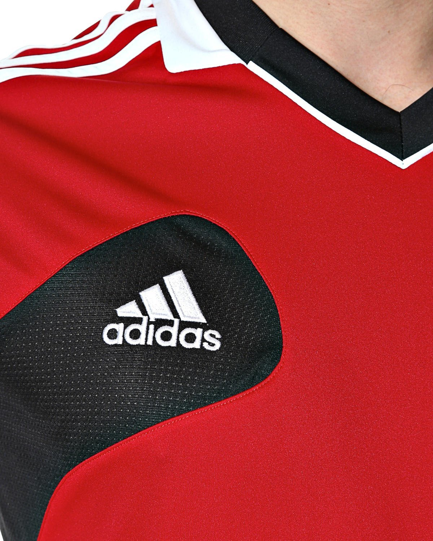adidas condivo herren trainings shirt sport trikot rot ebay. Black Bedroom Furniture Sets. Home Design Ideas