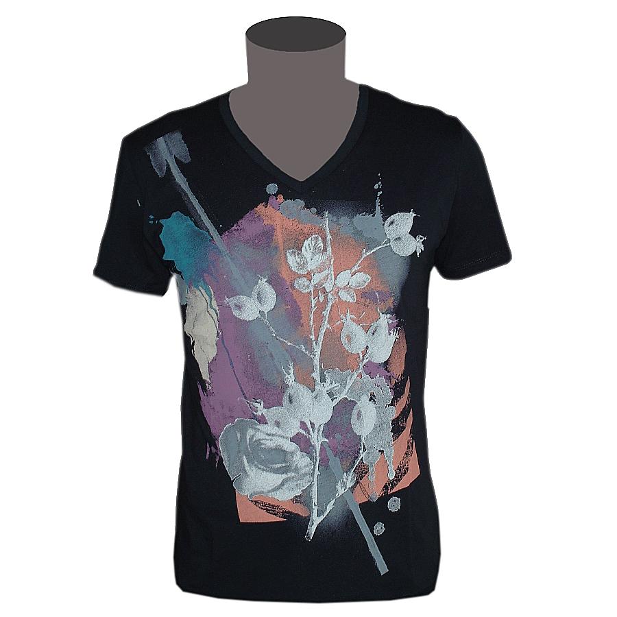 Hugo Boss Orange Label T Shirt Herren V Neck Texus
