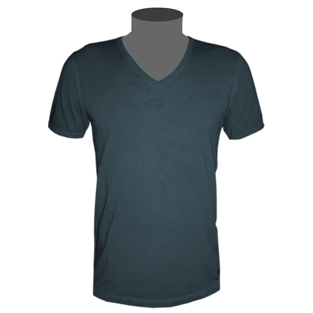 hugo boss orange label t shirt unifarben herren v neck 6. Black Bedroom Furniture Sets. Home Design Ideas