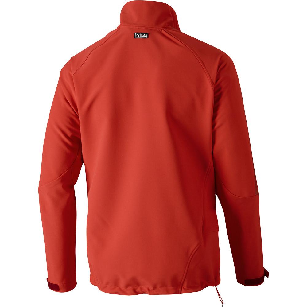 adidas ts softshell herren jacke winterjacke orange schwarz ebay. Black Bedroom Furniture Sets. Home Design Ideas