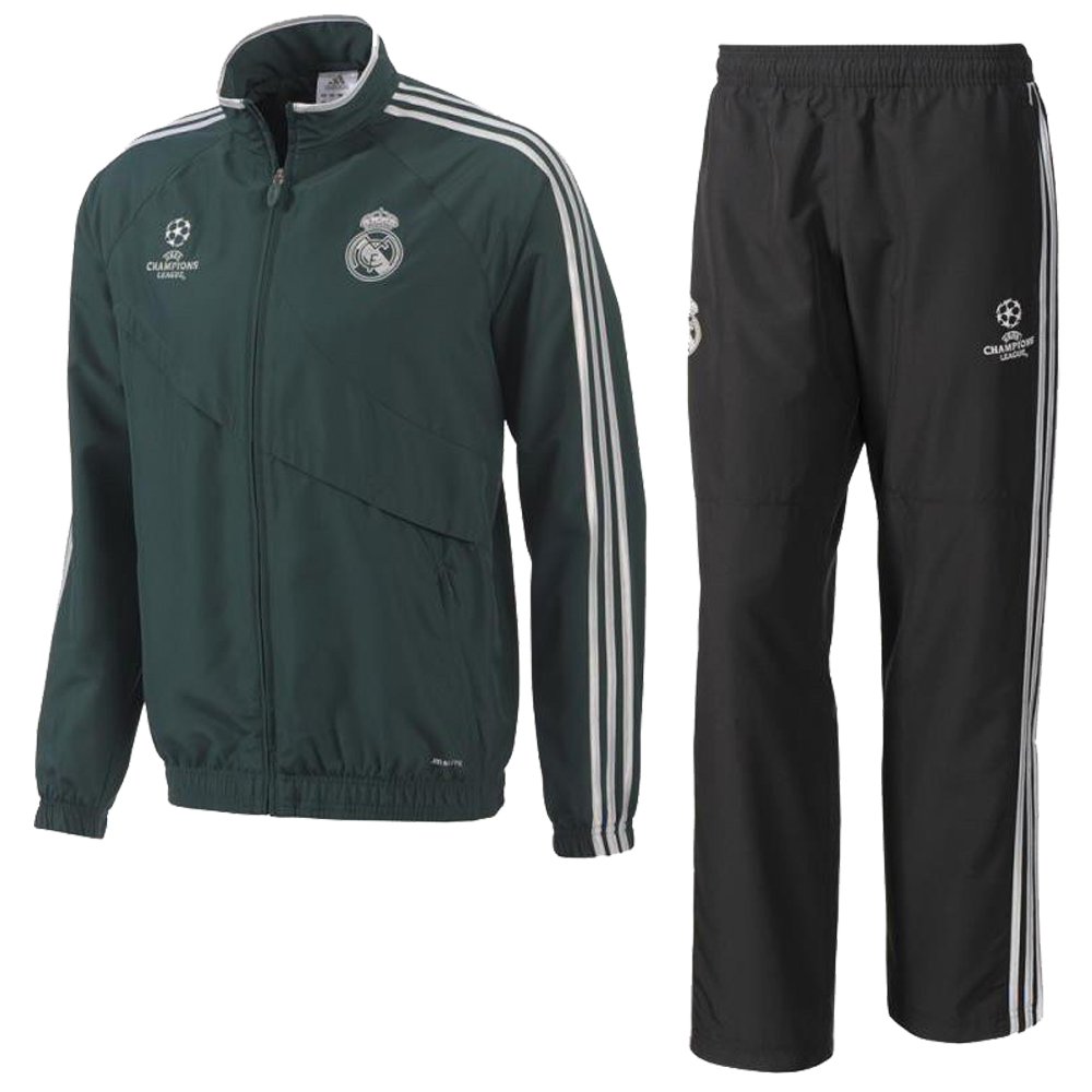adidas real madrid herren cl trainingsanzug. Black Bedroom Furniture Sets. Home Design Ideas
