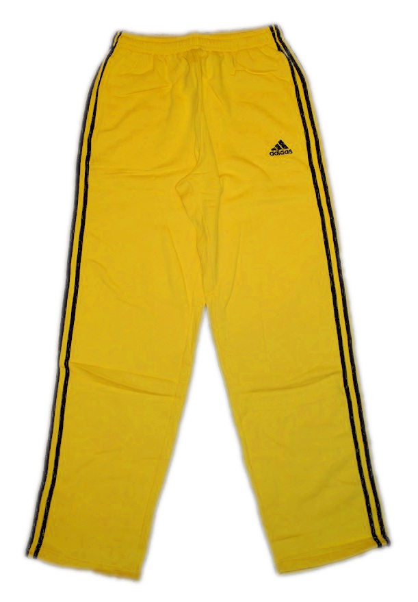 adidas aris thessaloniki trainingshose jogginghose gelb bergr e ebay. Black Bedroom Furniture Sets. Home Design Ideas