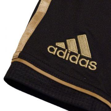 Hose schwarz gold
