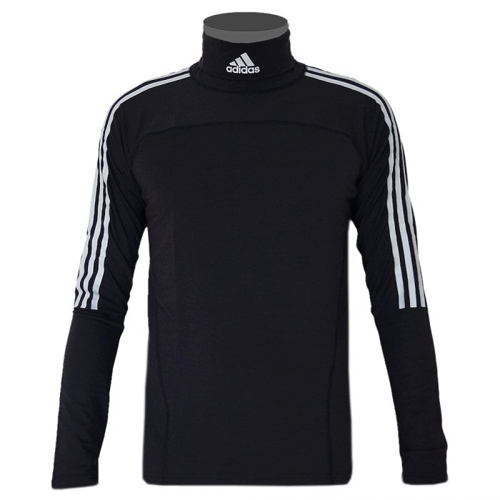 schwarzer adidas rollkragenpullover. Black Bedroom Furniture Sets. Home Design Ideas