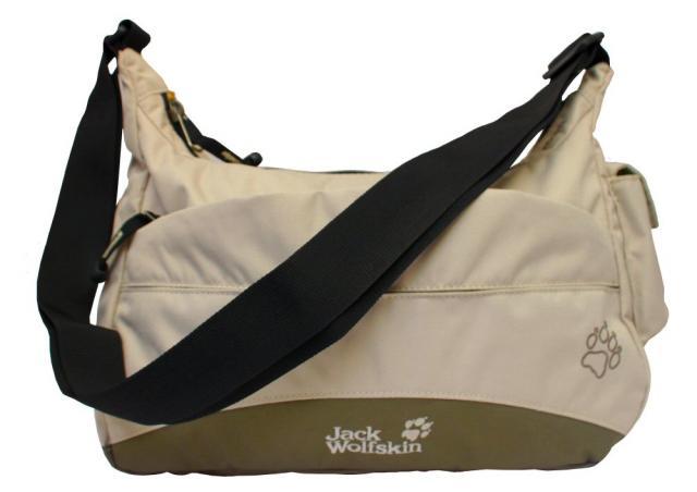 jack wolfskin boomtown pure sands tasche wandertasche bag ebay. Black Bedroom Furniture Sets. Home Design Ideas