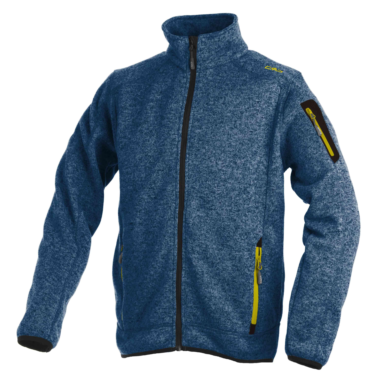cmp herren strickjacke jacket fleece strick jacke. Black Bedroom Furniture Sets. Home Design Ideas