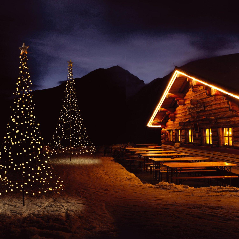 Fairybell fahnenstange 600 cm f r led weihnachtsbaum lichterbaum lichterketten ebay - Fairybell led weihnachtsbaum ...