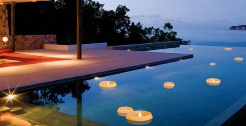 engels kerzen finca schwimmkerze gro outdoor bambus d 26 cm h 20 cm rund ebay. Black Bedroom Furniture Sets. Home Design Ideas