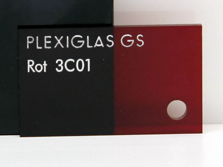 plexiglas gs 3c01 rot. Black Bedroom Furniture Sets. Home Design Ideas