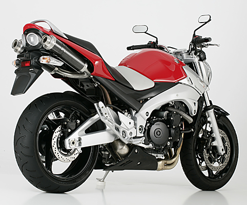shark auspuff track 1000 suzuki gsr 600 ebay. Black Bedroom Furniture Sets. Home Design Ideas