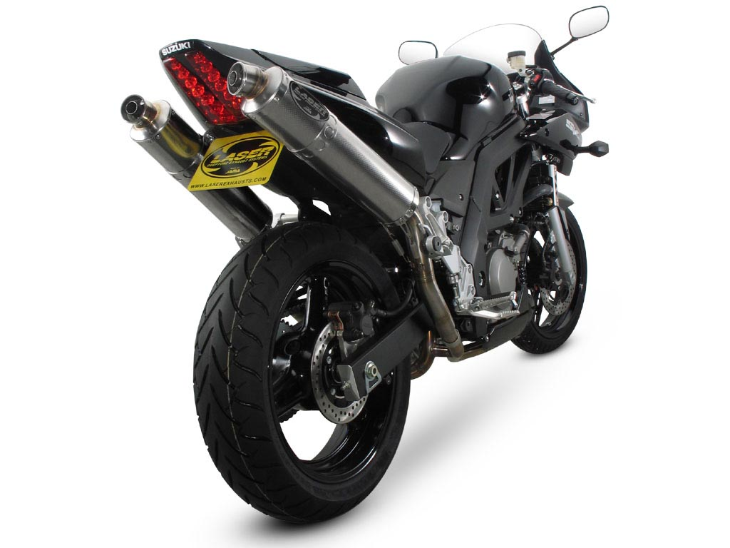 laser x treme auspuff f r suzuki sv 650 s wvby bj 03 ebay. Black Bedroom Furniture Sets. Home Design Ideas