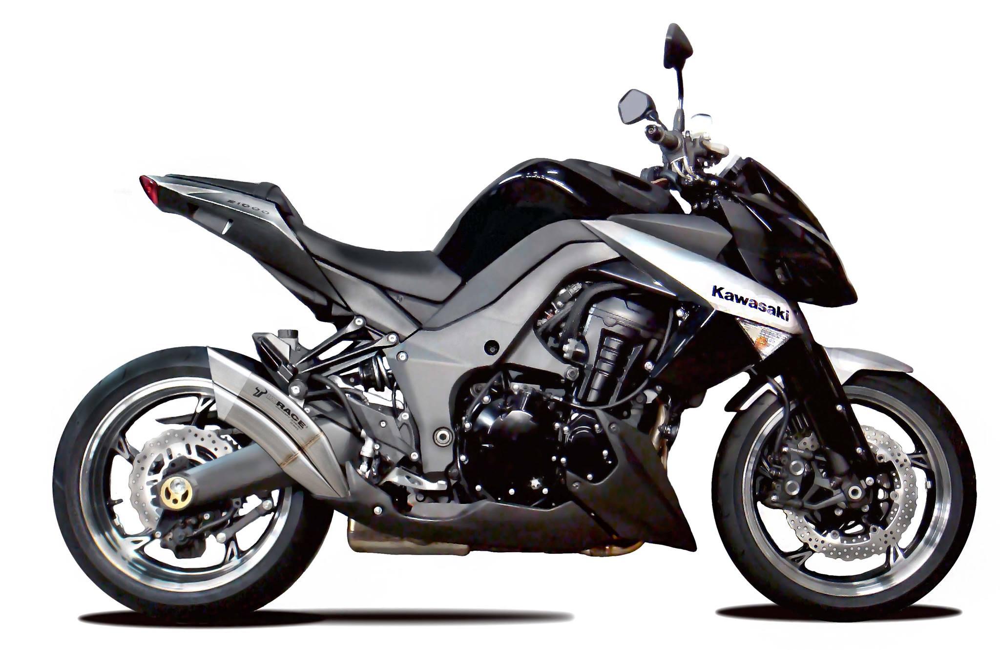 ixrace 2 motorrad auspuff kawasaki z 1000 10 z 1000 sx. Black Bedroom Furniture Sets. Home Design Ideas