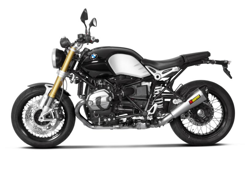akrapovic auspuff bmw r ninet bj 14 titan ebay. Black Bedroom Furniture Sets. Home Design Ideas