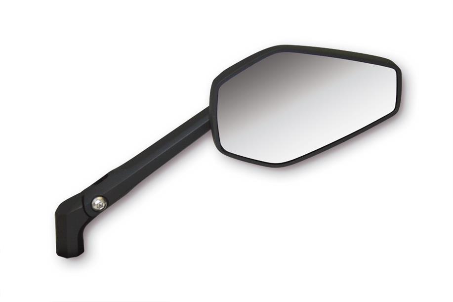 Shinyo motorrad spiegel booster 2 alu schwarz m10 e for Spiegel unten motorrad