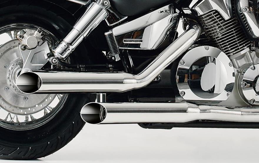 falcon cromo line auspuff honda vt 600 c shadow 2 esd. Black Bedroom Furniture Sets. Home Design Ideas