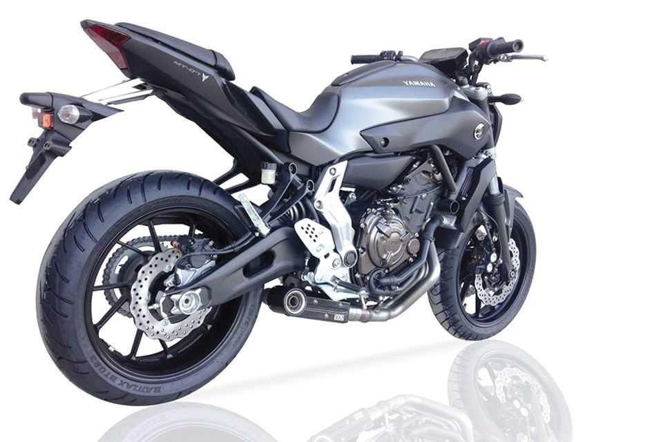 ixil sx1 auspuff yamaha mt 07 komplettanlage mit eg abe ebay. Black Bedroom Furniture Sets. Home Design Ideas