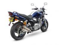 Laser X-Treme Auspuff für Yamaha XJR 1300 RP02  99-01, mit EU-ABE