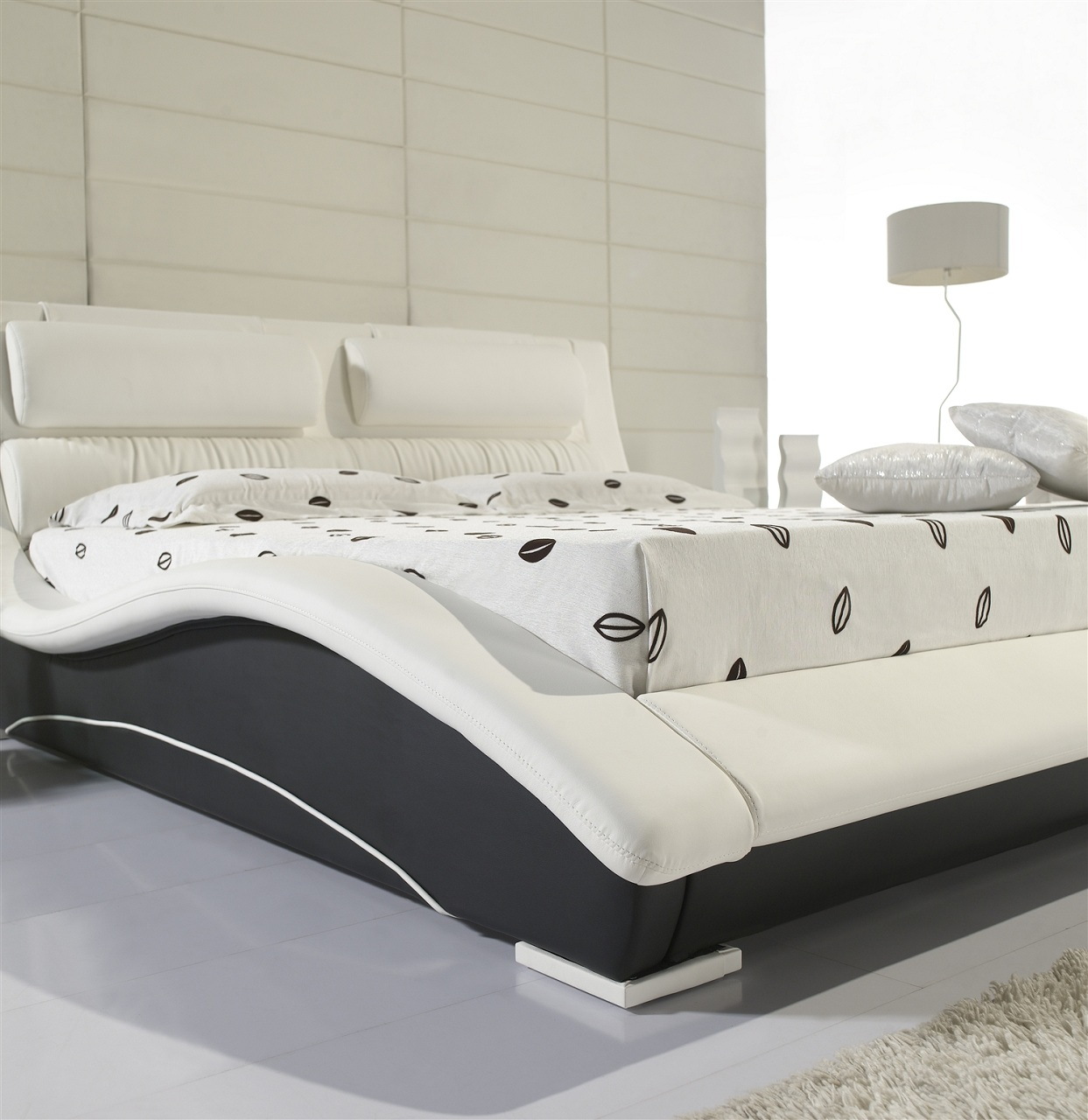 wasserbett komplett softside dual design polster bettgestell bettrahmen charisma ebay. Black Bedroom Furniture Sets. Home Design Ideas