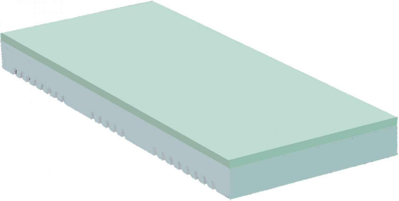 premium 7 zonen orthop dische visco kaltschaum silver care matratze h he ca 20. Black Bedroom Furniture Sets. Home Design Ideas