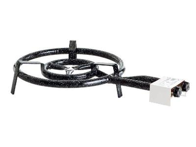 gasgrill gasbrenner gas brenner kocher paella gasherd 2 ringe 40cm 13 9kw 50mbar ebay. Black Bedroom Furniture Sets. Home Design Ideas