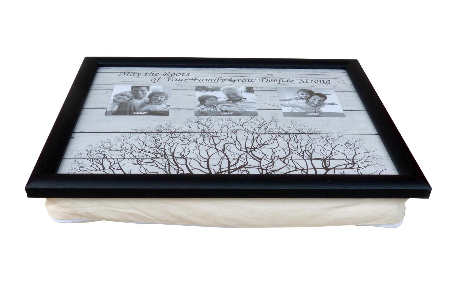 knietablett betttablett bilderrahmen kissen tablet. Black Bedroom Furniture Sets. Home Design Ideas