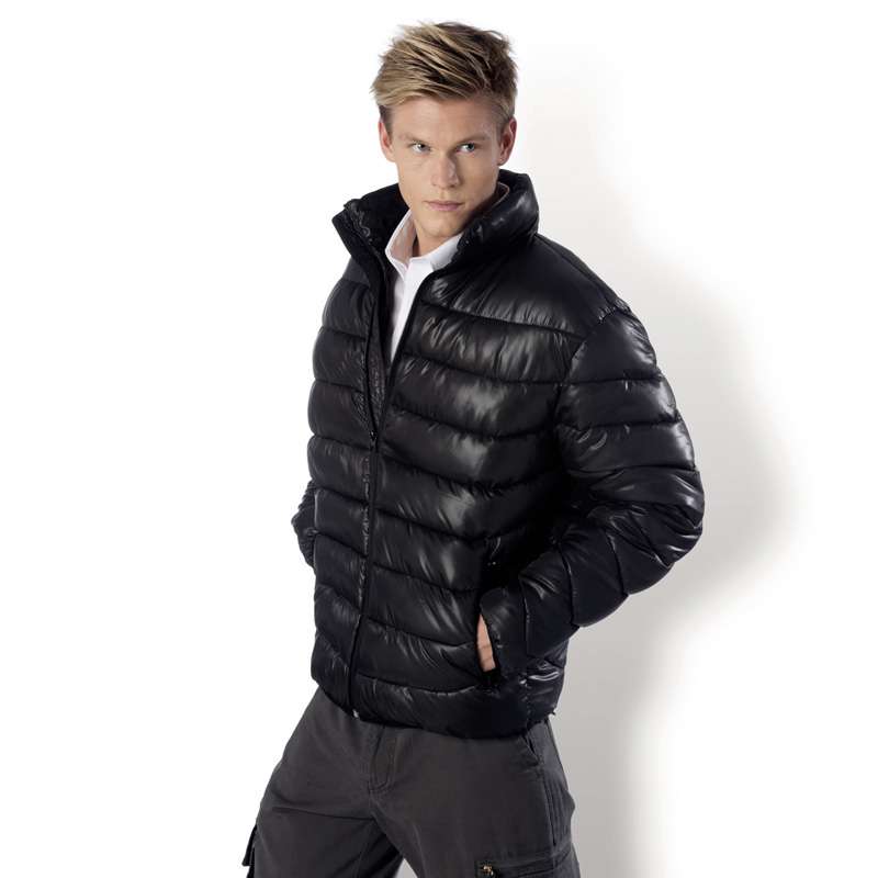 kariban winterjacke herren daunenjacke optik s m l xl xxl xxxl 4xl jacke stepp ebay. Black Bedroom Furniture Sets. Home Design Ideas