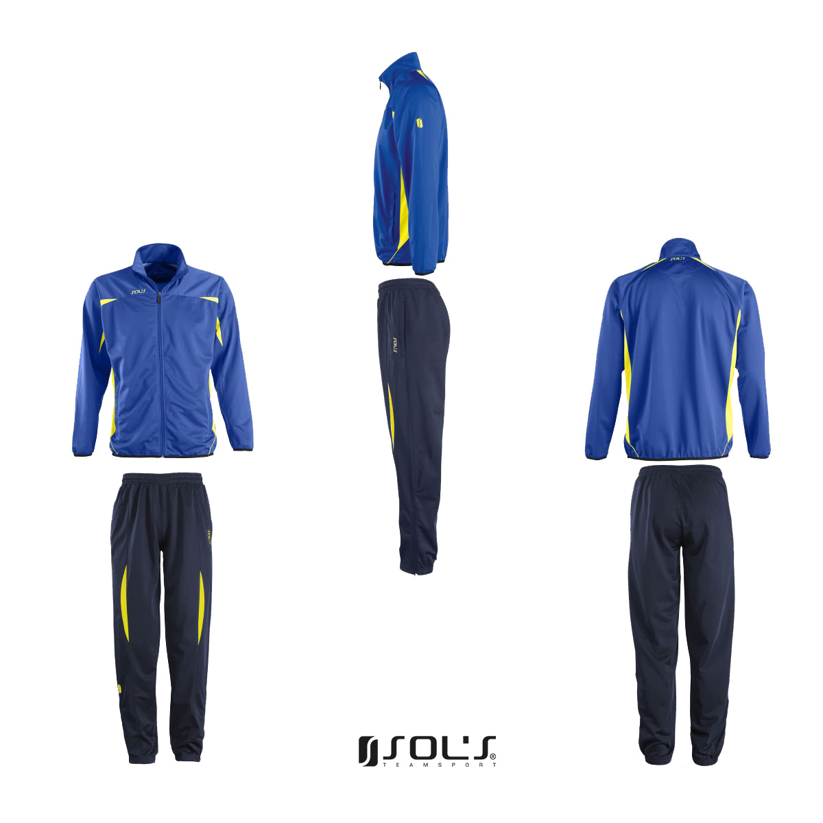 Neu Sols Herren Jogginganzug Trainingsanzug Sportanzug Fußballanzug Fitnessanzug