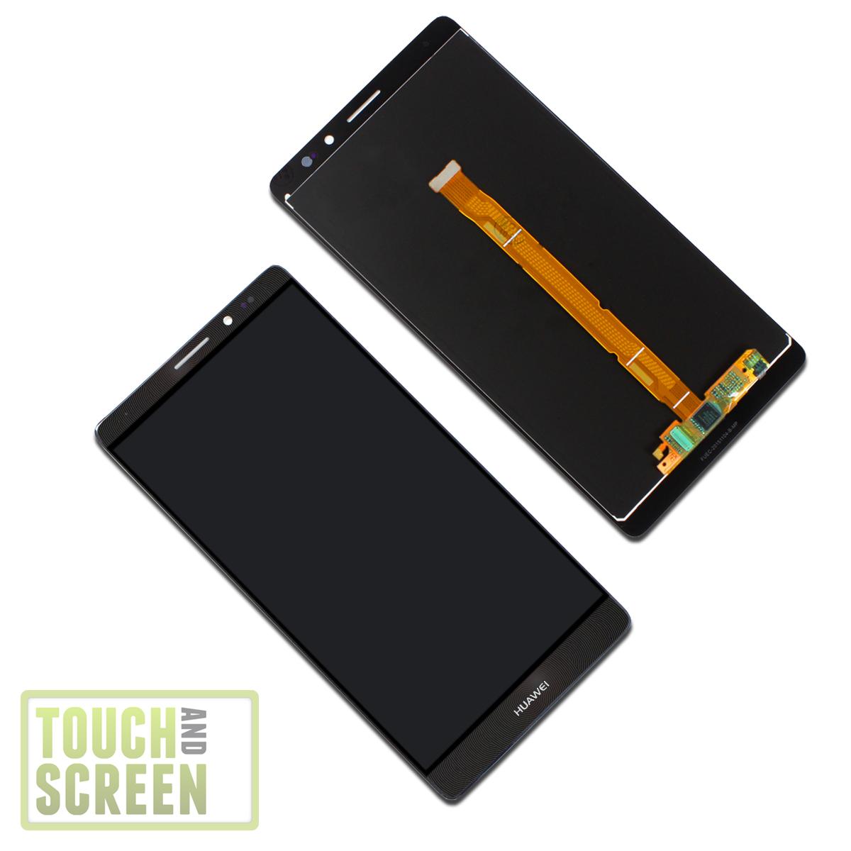 orig huawei ascend mate 8 display modul mit rahmen screen schwarz inkl werkzeug ebay. Black Bedroom Furniture Sets. Home Design Ideas