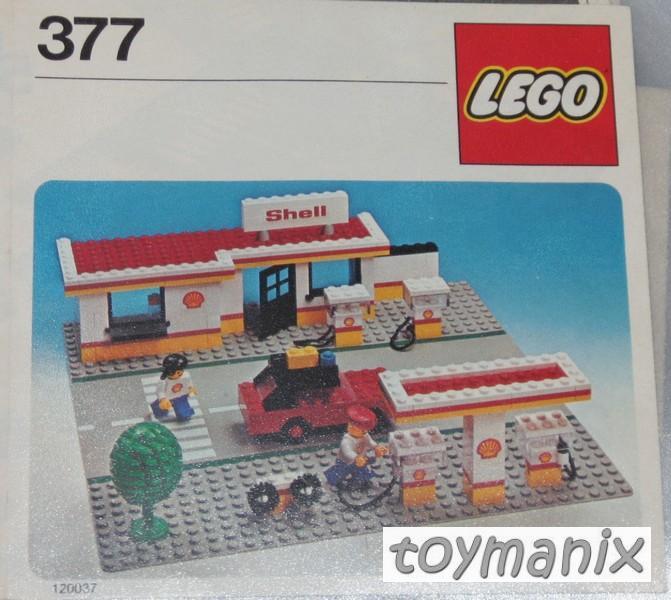 377 lego bauanleitung shell tankstelle fuel station ebay. Black Bedroom Furniture Sets. Home Design Ideas