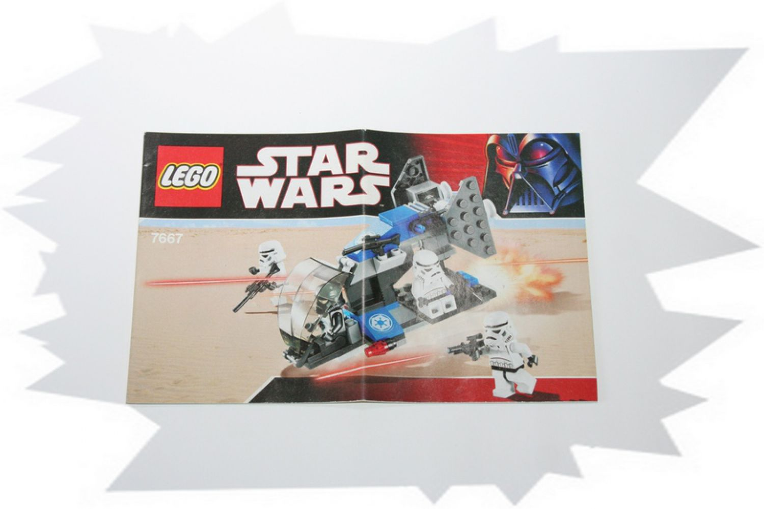 7667 lego bauanleitung instruction star wars imperial dropship neu ebay. Black Bedroom Furniture Sets. Home Design Ideas