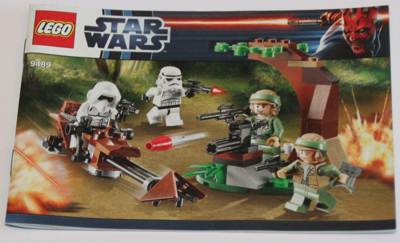Lego Instruction Manual Star Wars