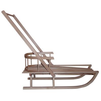 holzschlitten r ckenlehne schieber 84cm kinderschlitten schlitten holz rodel ebay. Black Bedroom Furniture Sets. Home Design Ideas