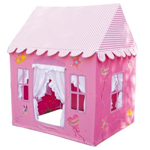 spielhaus prinzessin schlo kinderspielhaus haus kinderzelt drinnen drau e 165cm ebay. Black Bedroom Furniture Sets. Home Design Ideas