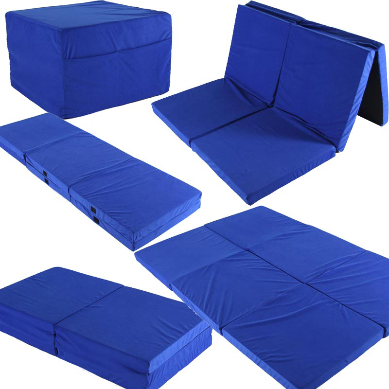 twinn doppel klappmatratze 192x128cm g stebett reisebett faltmatratze matratze ebay. Black Bedroom Furniture Sets. Home Design Ideas
