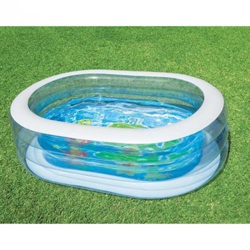 Intex oval pool 163x107 schwimmbecken swimmingpool for Intex ovale