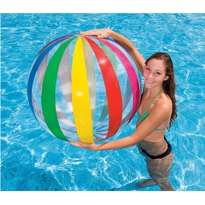 Baño Infantil La Pala:INTEX Jumbo Bola de agua ø 107 playa Beachball Balón Baño divertido