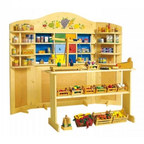 Kaufladen Holz Puppentheater ~ Kaufladen Vario Kasperletheater 159x121cm Kaufmannsladen Puppentheater