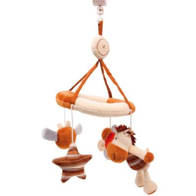 mobile musik baby pl sch stofftiere bettmusik kinderbett schlafmusik 55cm ebay. Black Bedroom Furniture Sets. Home Design Ideas