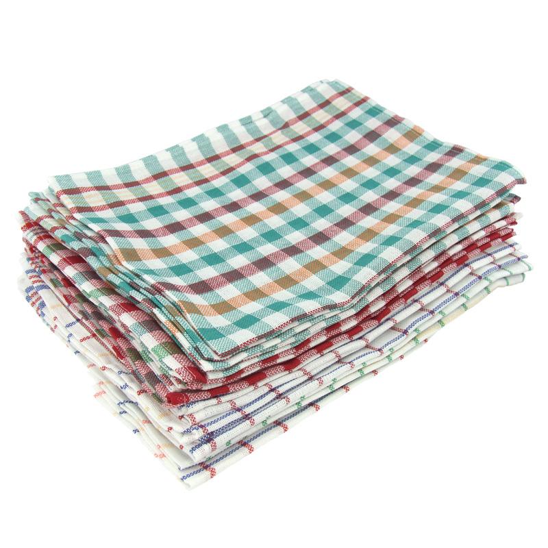 10 50er set geschirrtuch kariert k chenhandtuch k chentuch glastuch handtuch ebay. Black Bedroom Furniture Sets. Home Design Ideas